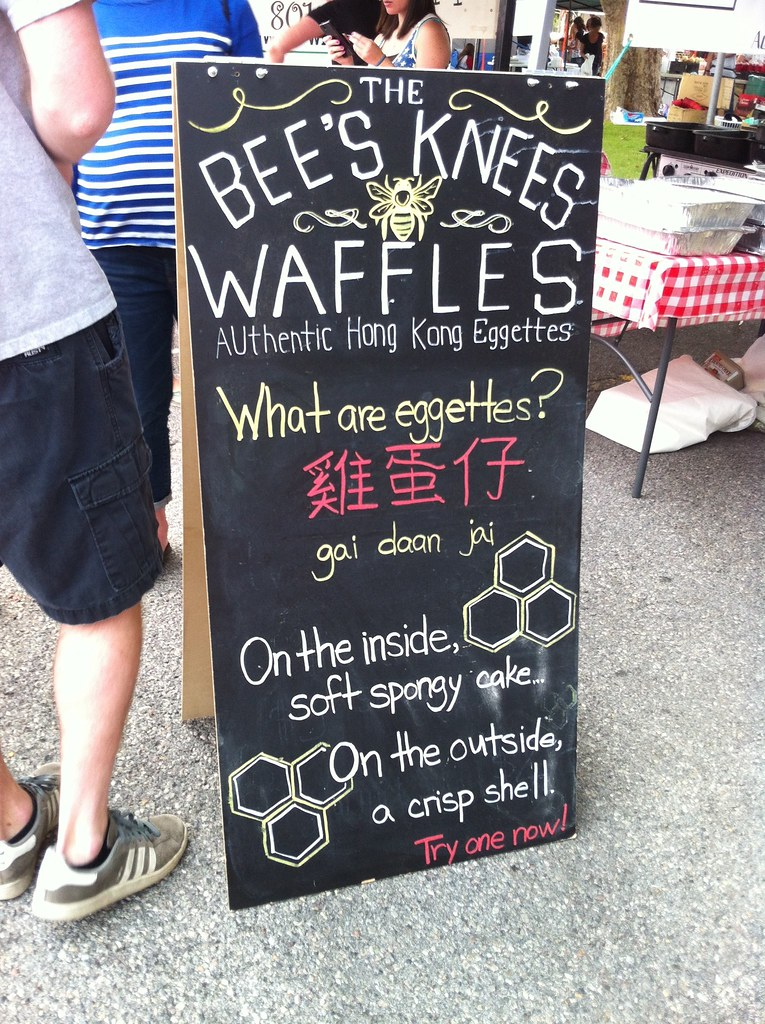 Bee's Knees Waffles