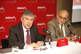 Fabio Villegas Ramírez y Germán Efromovich (Avianca)