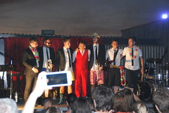 Javi el Mago con The Poncho's. Las Playas (Zaragoza)