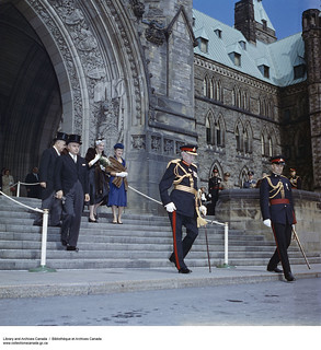 Major General Georges P. Vanier on the day of his inauguration as Governor General of Canada, 1959 / Le major général Georges P. Vanier lors de sa cérémonie d'entrée en fonction à titre de gouverneur général du Canada, en 1959