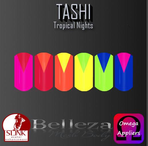 TASHI Tropical Nights