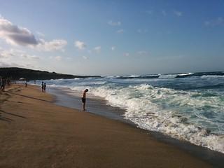 Image of Плажът на Велека.