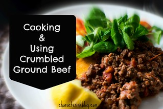 Cooking and Using Crumbled Ground Beef