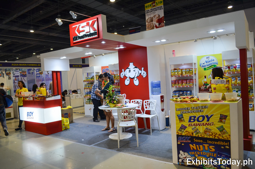 KSK Food Products Exhibit Stand