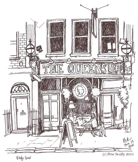 Queens Head pub, Kings Cross