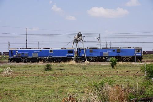 transnet class10e 10038 10091 vanderbijlpark gauteng