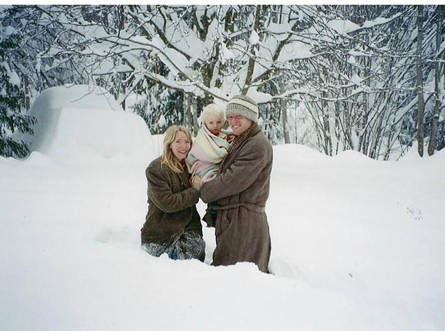 Visiting relatives at Christmas on Salt Spring Island. Photo Wendy Montana