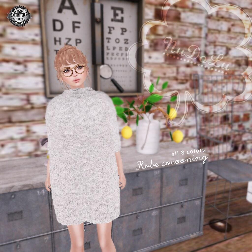 NuDoLu Robe cocooning AD - SecondLifeHub.com