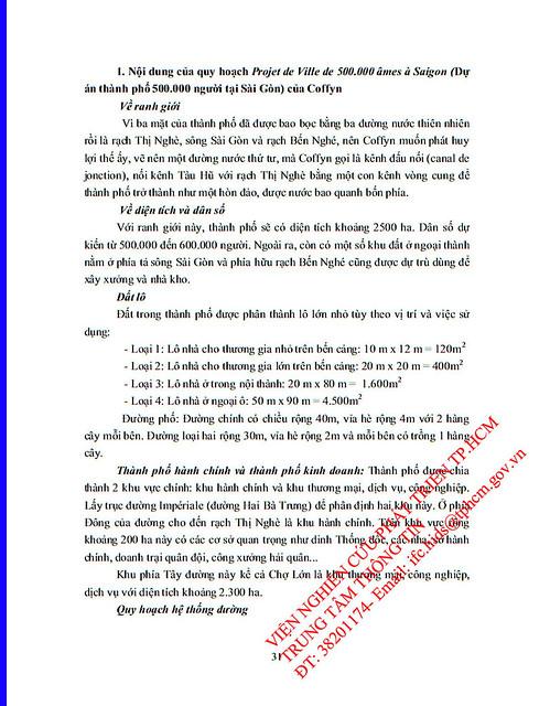 Viết thêm về Quy hoạch Coffyn 1862 (3/15)