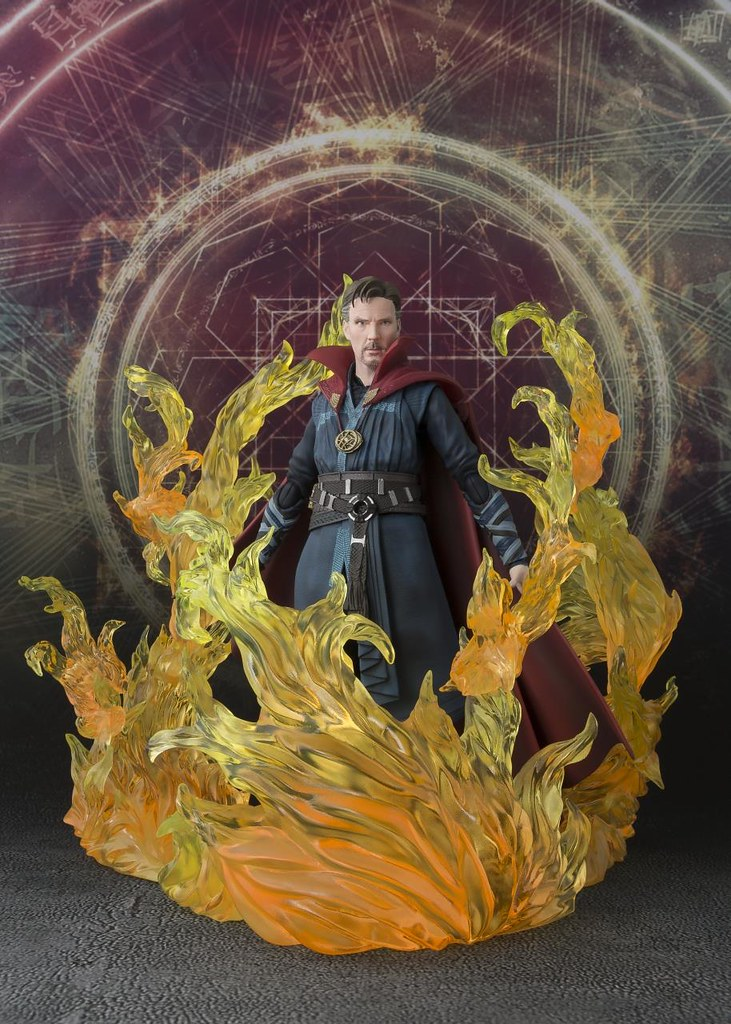多瑪暮,我想談個條件... S.H.Figuarts 奇異博士 & 金色火焰限定版 S.H. Figuarts Doctor Strange & Burning Flame Set