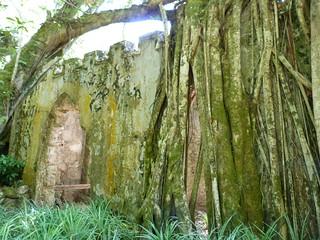 Capilla en ruinas del Palacio de Monserrate (Sintra)