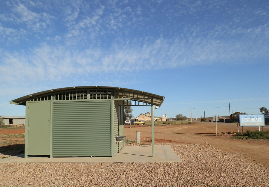 Lyndhurst Loo, Outback South Australia