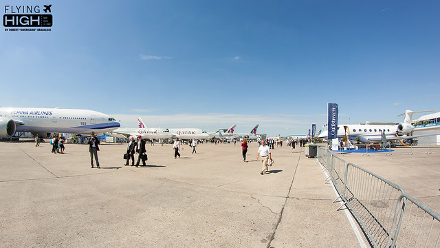 Paris Air Show Day 1