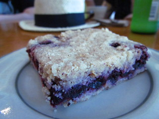 Blueberry Crumble Slice from Thai Fresh