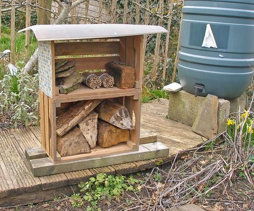 Experimental Bee House beginning of season