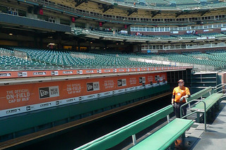 AT&T Park Tour - Visitors Dugout