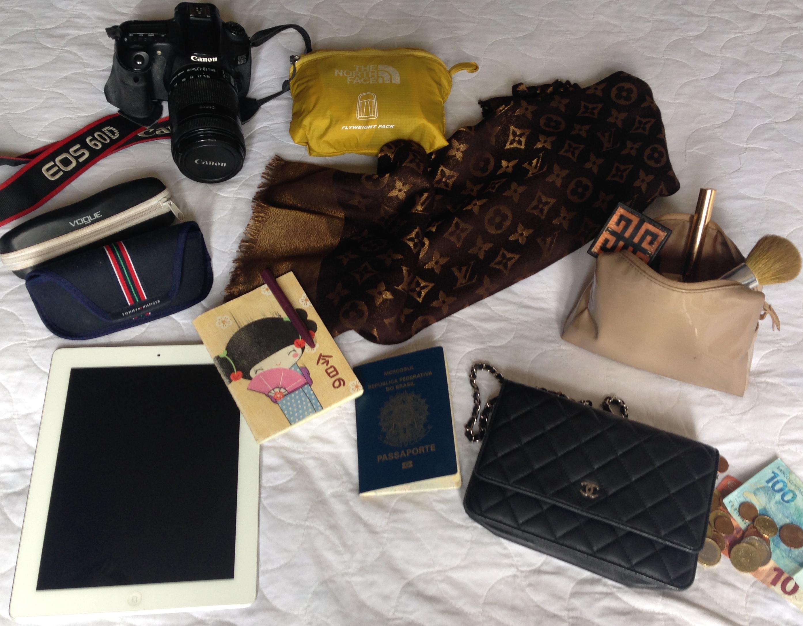 fe52fb15a0f Quantos sapatos e blusas cabem em uma mala de bordo