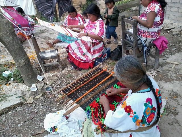 Weavers from Cochoapa or Metlatonoc