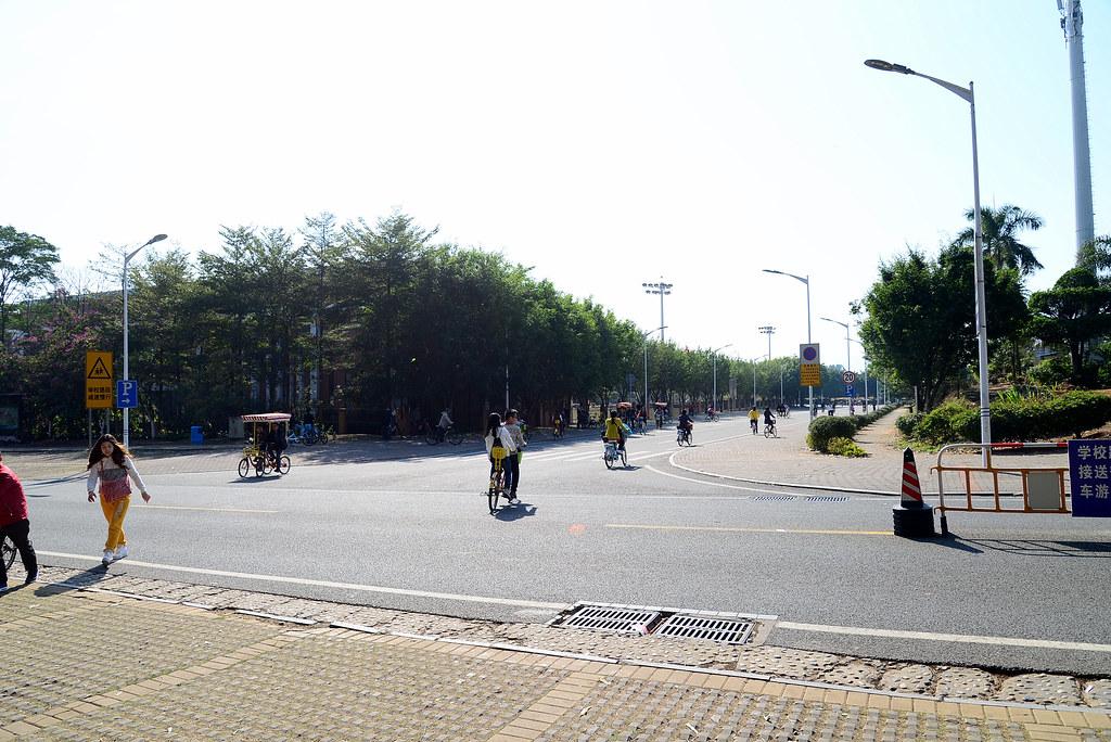 東莞松山湖 環湖自行車道