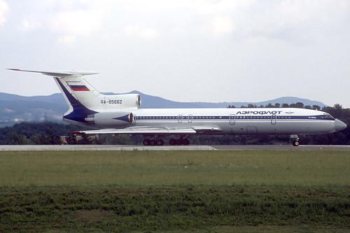 Aeroflot TU-154M RA-85662 GRO 23/09/1995