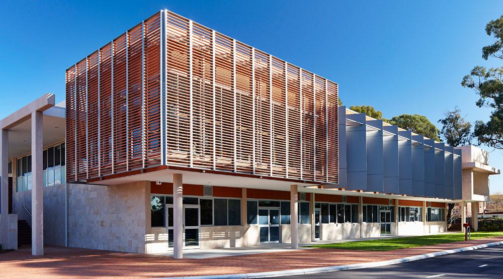 Forrest Library Terracade Facade System Designplace