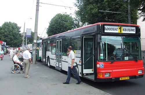 Автобус до Ювілейного «вбили» пільговики
