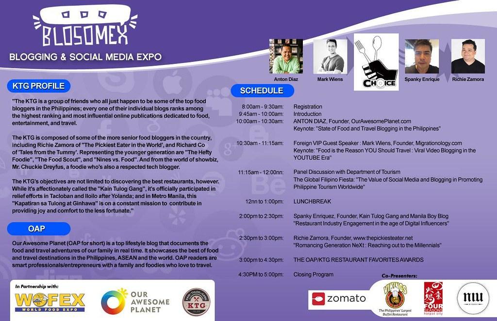 BLOSOMEX Programme