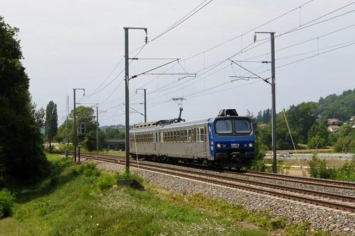 Z2 solitaire sur un Lyon - Chambéry