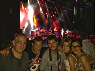 Con amigos en el Festival de Cap Roig (Costa Brava Pirineu de Girona)