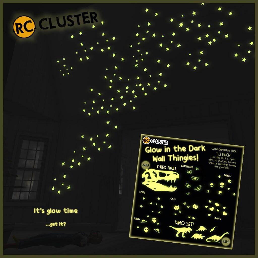 -RC- Glow in the dark wall thingies! - SecondLifeHub.com