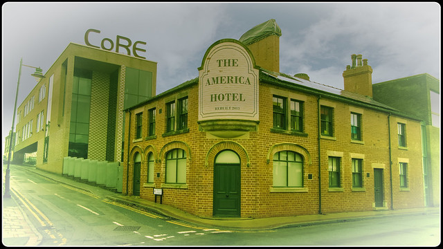 The America Hotel, Normacot., Canon POWERSHOT SX600 HS
