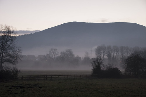 Misty afternoon in Abergavenny (kasiainwales)