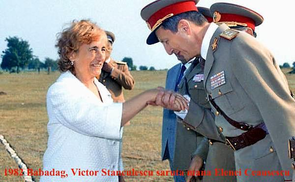 Elena Ceausescu si Victor Stanculescu