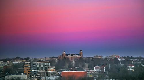 arkansas sunrise universityofarkansas razorbacks fayetteville canon6d