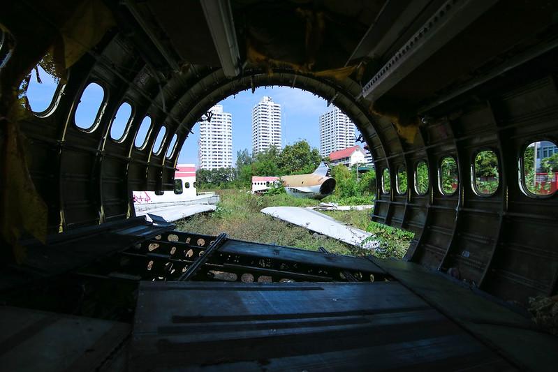 Bangkok's Airline Graveyard