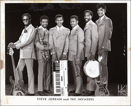 steve jordan and the invaders