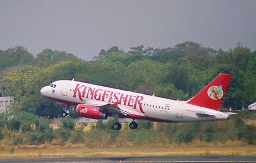 Kingfisher aircraft photo by Flickr user Sameer Chhabra