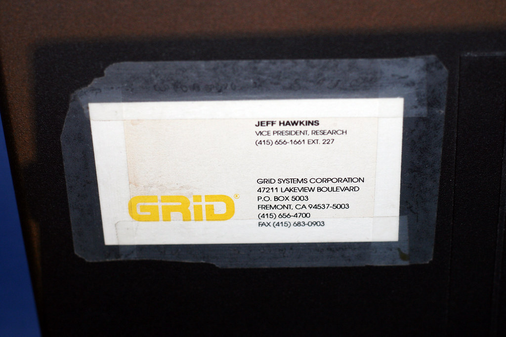 Jeff Hawkins business card