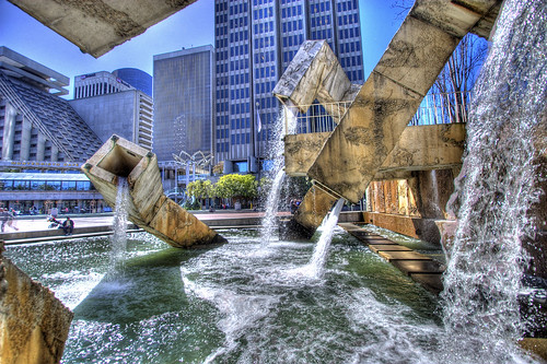 Vaillancourt Fountain on the Embarcadero