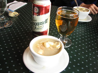 Rhode Island Clear Clam Chowder at ...