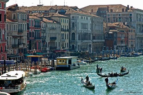 Busy Venice by Alida's Photos