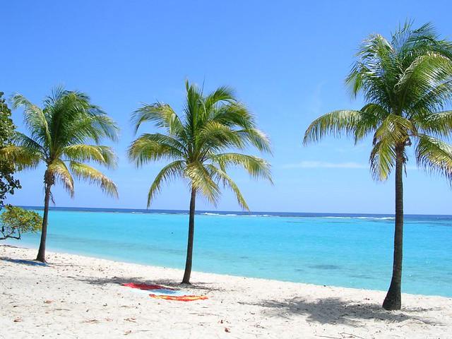 пляж Marie Galante