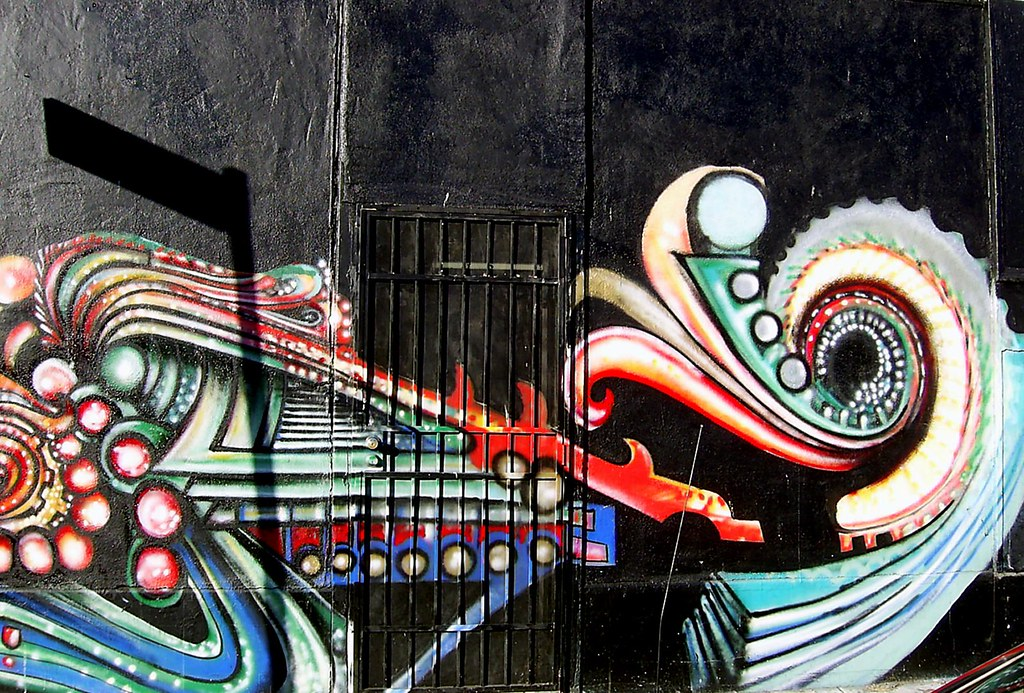 Graffiti Door