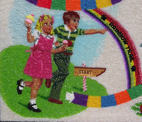 "Candyland - Start! ""detail view"""