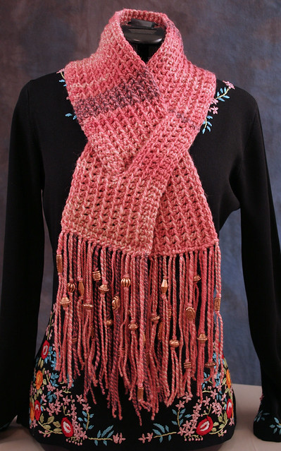 """THAT CROCHET GUY!!"": DC KEYHOLE NECK SCARF"