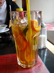singapore sling(0.0), distilled beverage(1.0), liqueur(1.0), spritz(1.0), negroni(1.0), drink(1.0), cuba libre(1.0), cocktail(1.0), mai tai(1.0), long island iced tea(1.0), alcoholic beverage(1.0),
