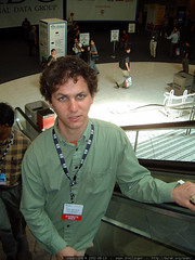 daniel on the moscone escalator   dscf2304