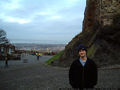 sean at edinburgh castle   dscf3434