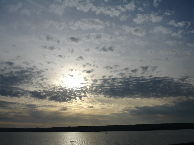 Sunset, Tennessee River, Guntersville AL
