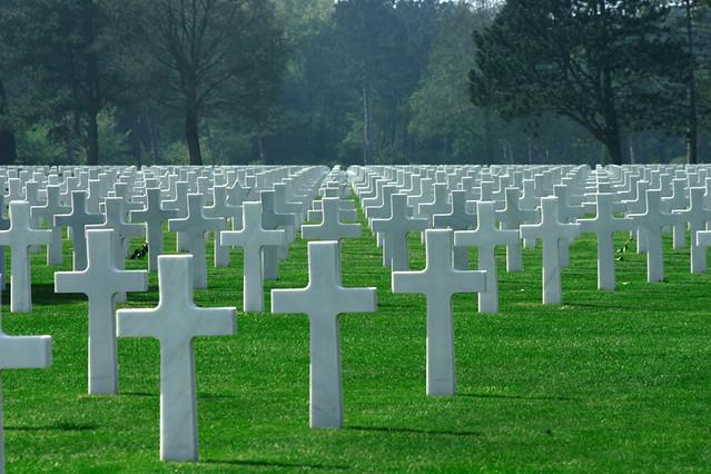 Omaha Beach WW2 Cemetery